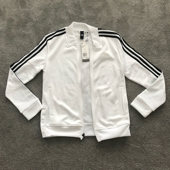 4ceaac65a98 adidas Other   Nwt Womens Tricot Snap Track Jacket Size S   Poshmark